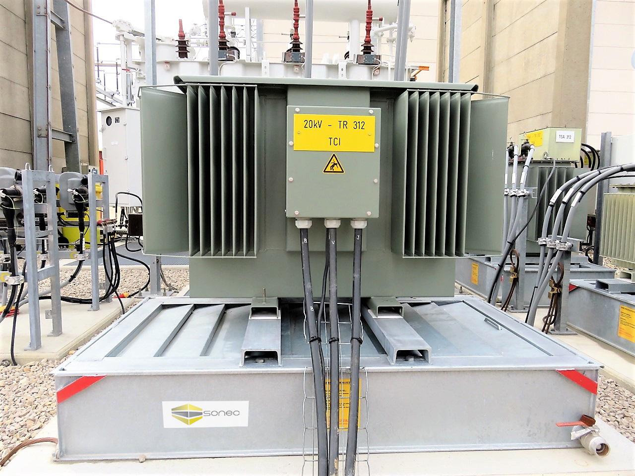 La gamme BCF de sonec de bac coupe-feu a été testée avec succès au CNPP et utilisée chez ENEDIS SNCF et France transfo depuis 2007
