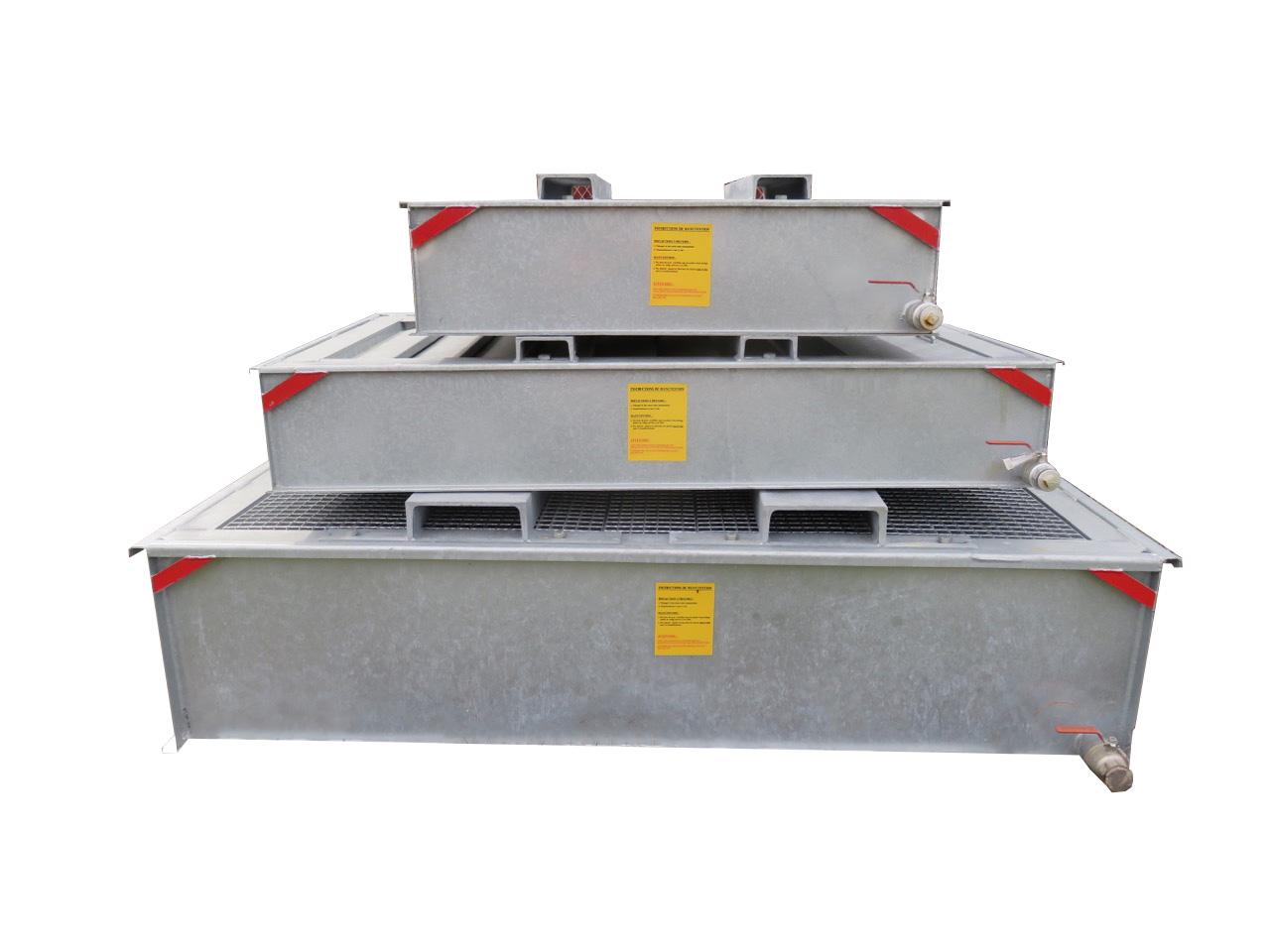 gamme BCF Bacs Coupe Feu SONEC de 160 à 15 MVA ransformateur IC imépdance de compensation et autotransformateur