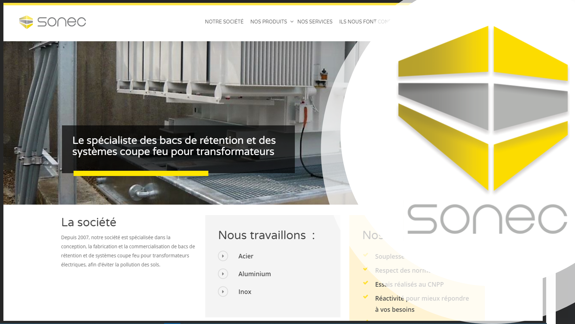 At the end of 2018 SANERGRID acquired SONEC