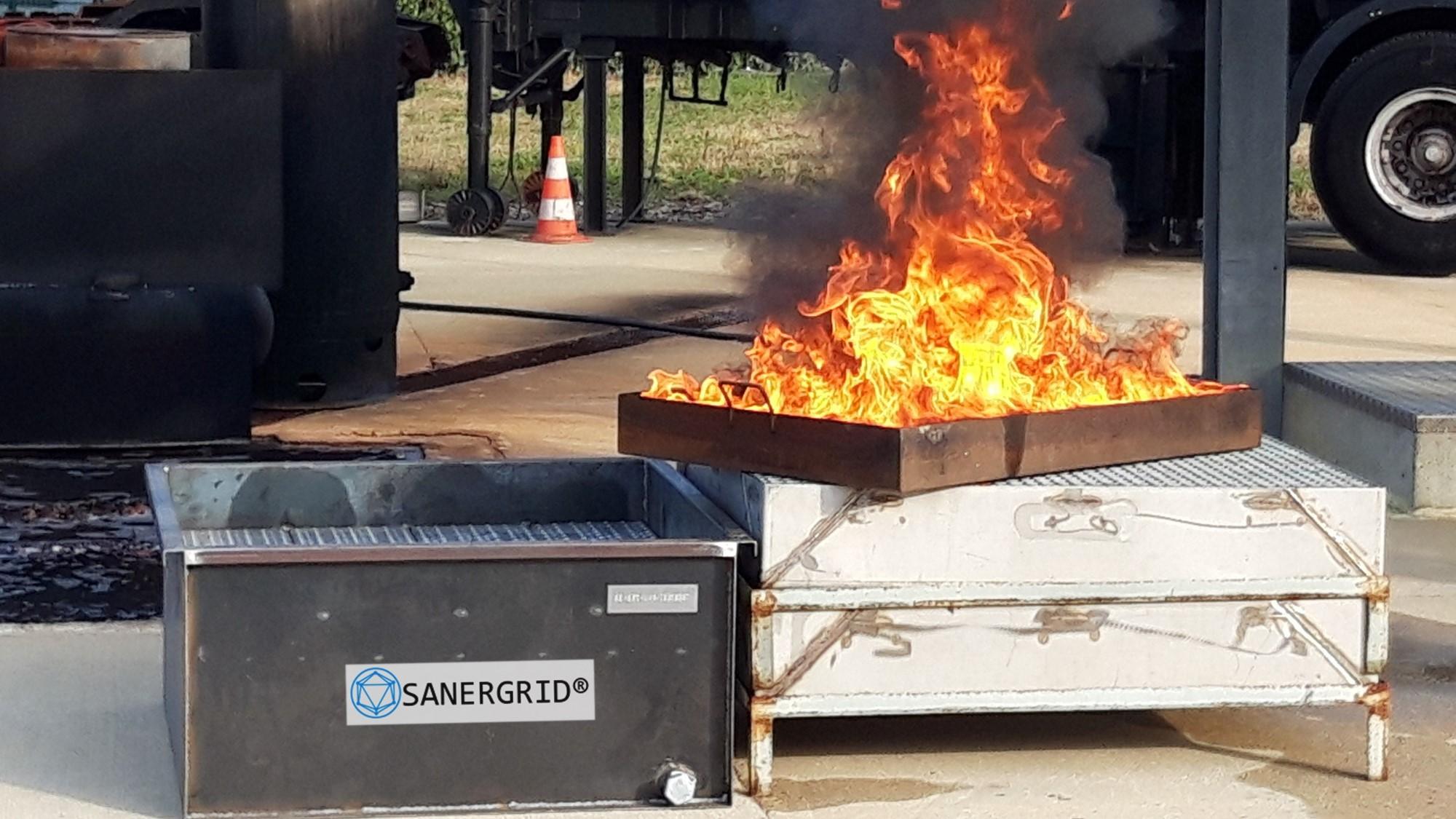 EDF – IFOPSE les Avenières : une journée de démonstration technique incendie avec SANERGRID