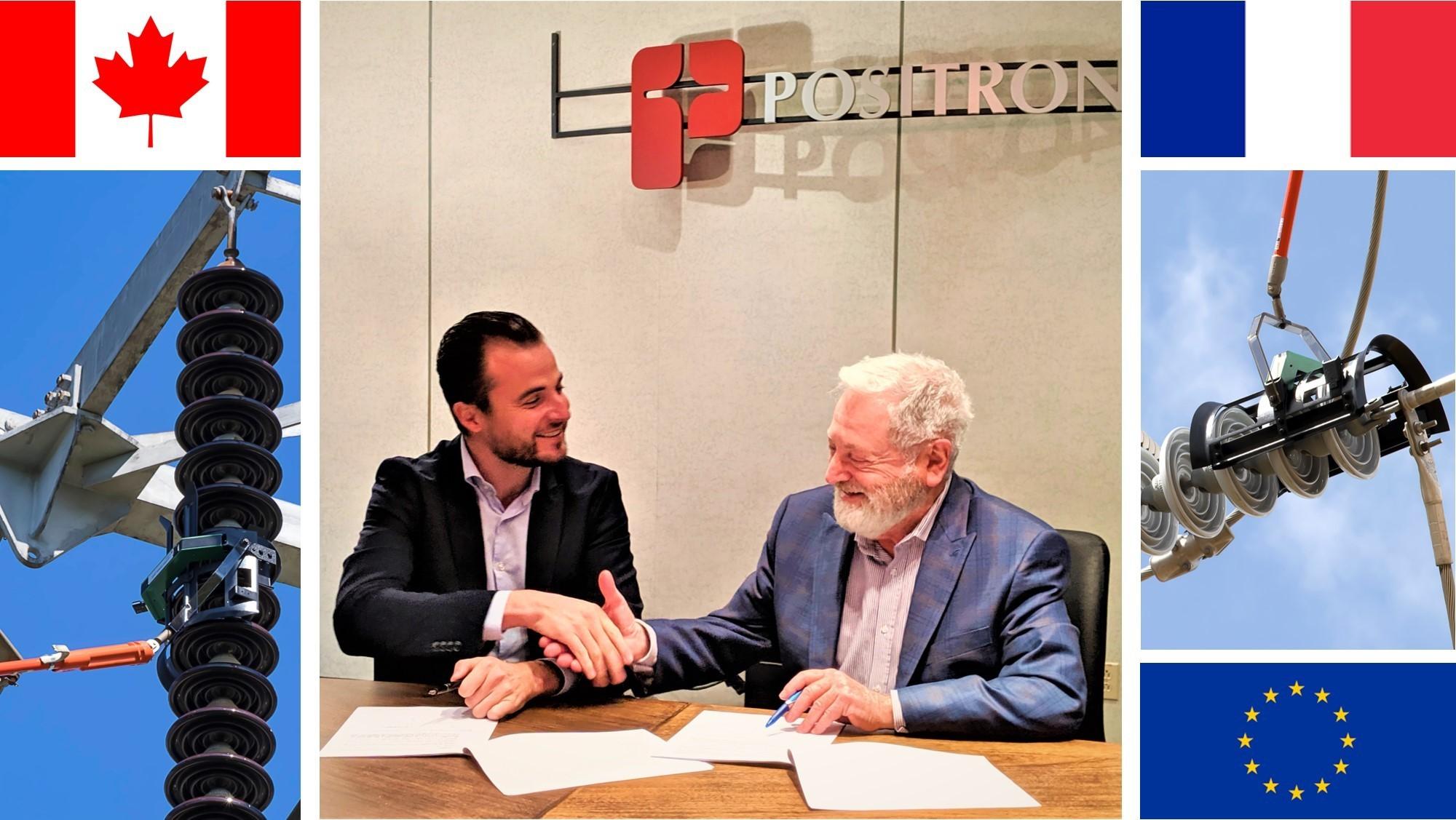 COMMUNIQUÉ DE PRESSE: CIGRE 2019 POSITRON et SANERGRID signent un partenariat de distribution