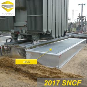 04-rénovation d'un poste SNCF avec BGS MODULO 3 installé sous transformateur