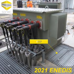 07-Couvercture coupe feu CCF SONEC pour une grille HTA de poste source ENEDIS
