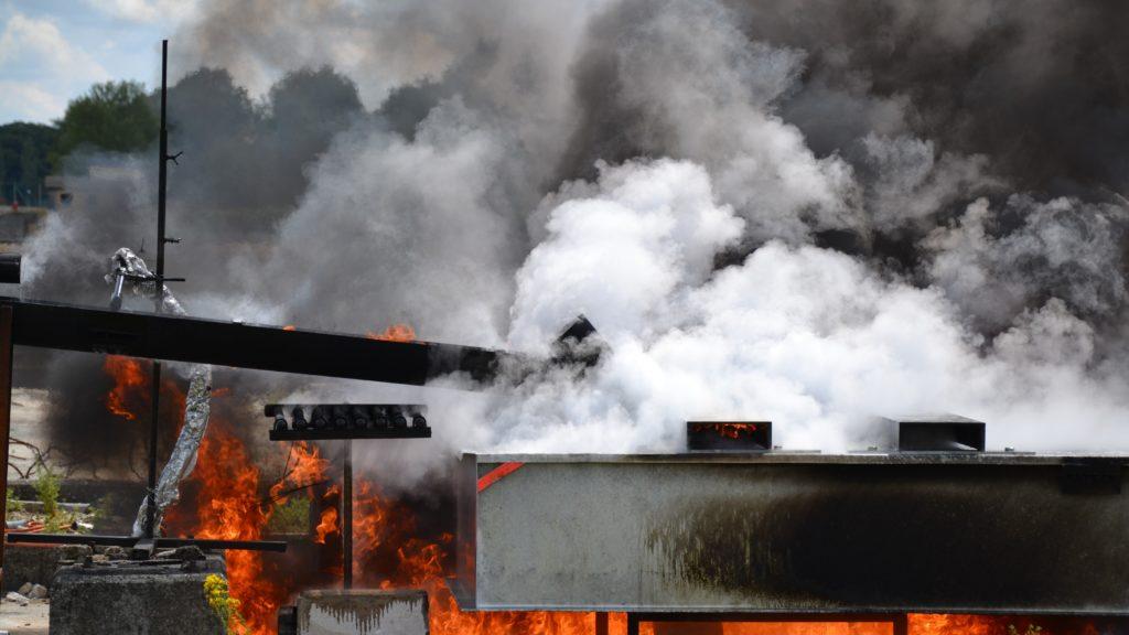 bac de rétention coupe-feu pour transformateur testé au CNPP SONEC SANERGRID