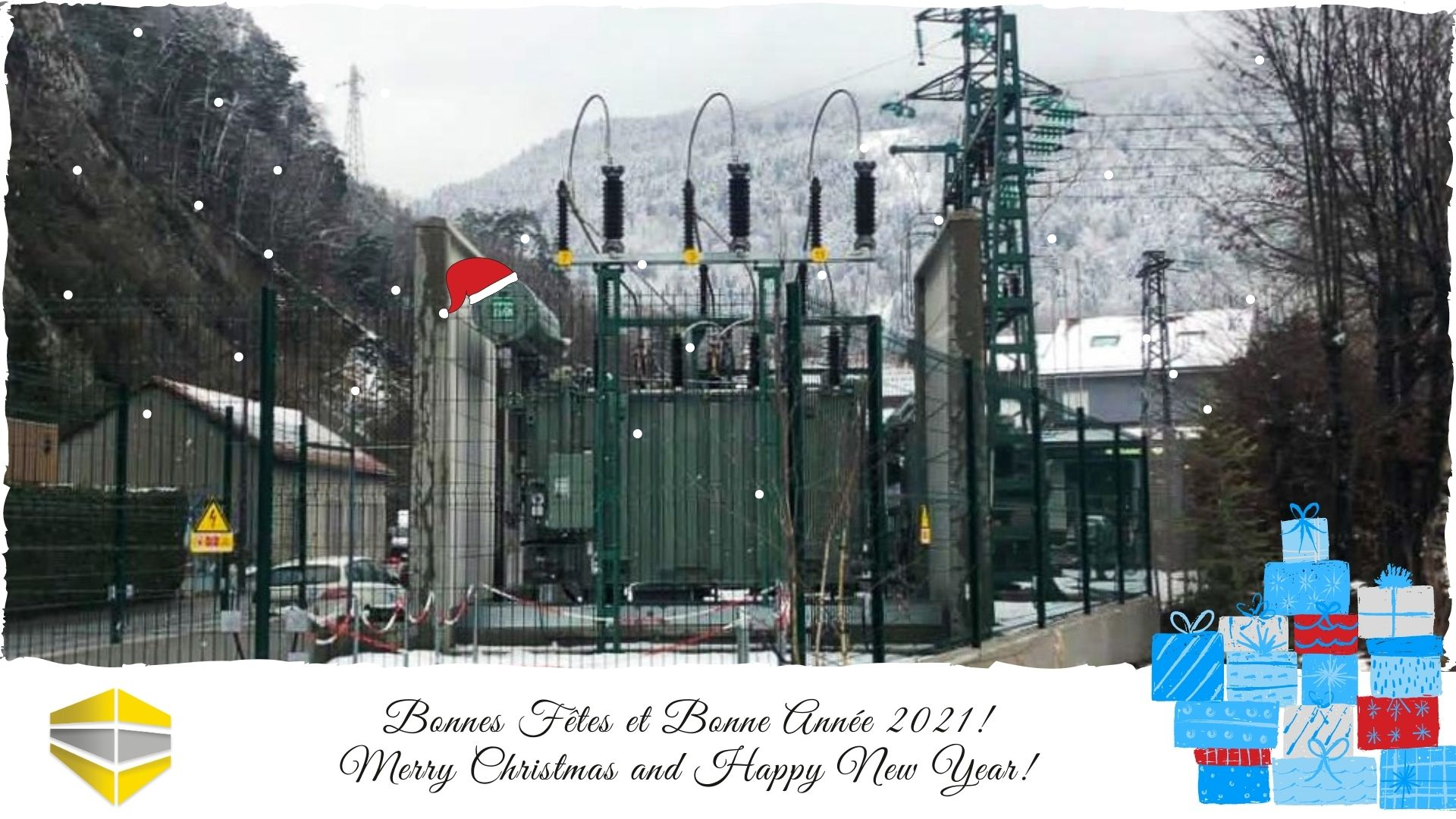 The entire SANERGRID / SONEC team wishes you happy holidays and a happy new year 2021!