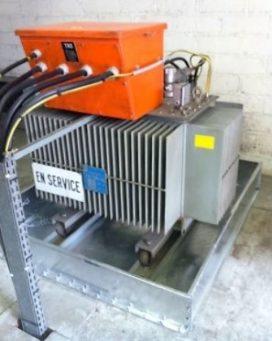 Bac de rétention BR2S pour transformateurs
