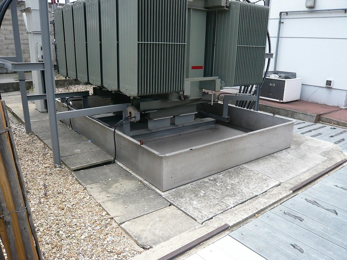 La gamme BGS peut être équipée de filtre à eau anti hydrocarbures SPI pour drainer les eaux de pluie