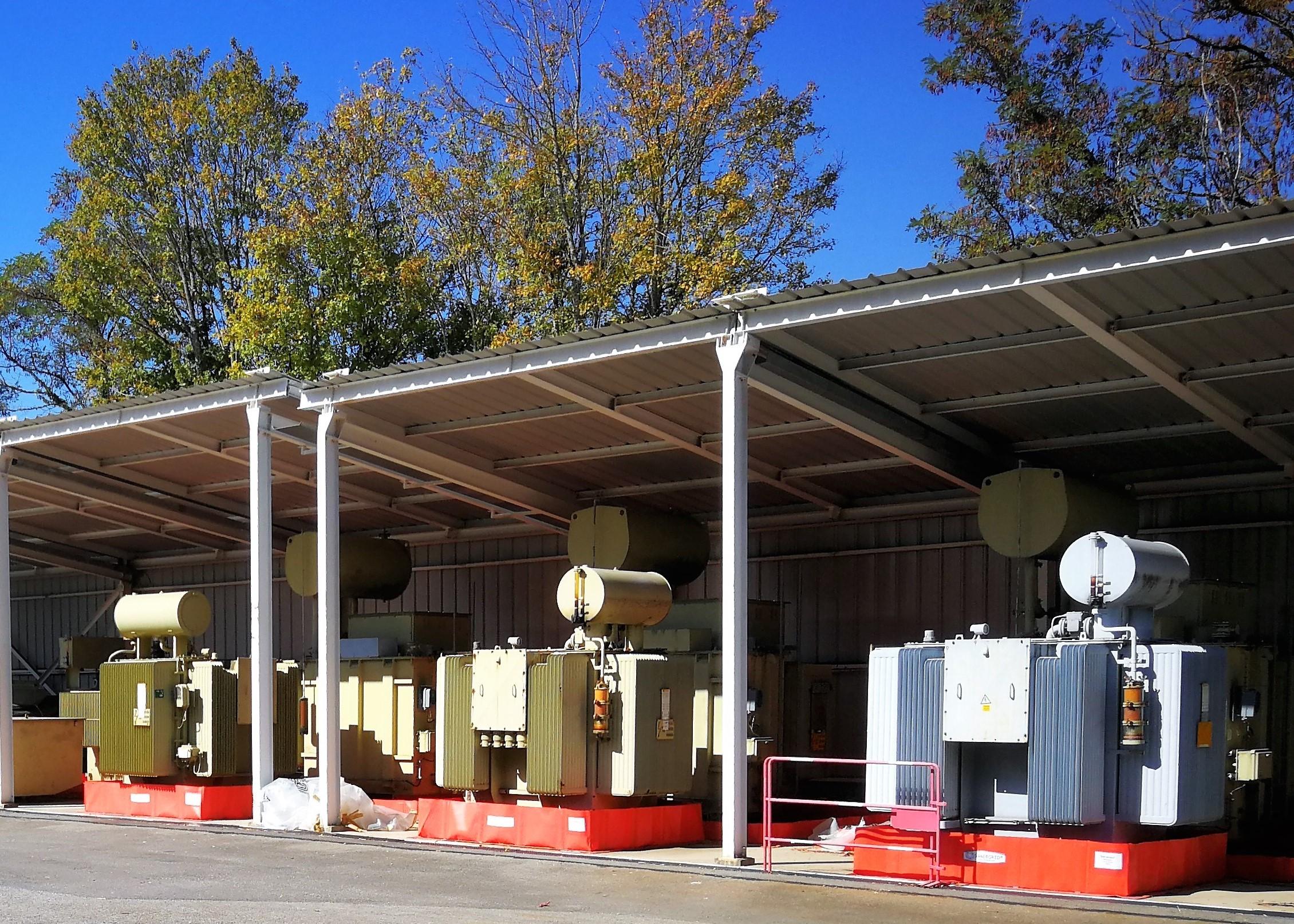 BS bac de rétention souple pour stockage de transformateur a huile